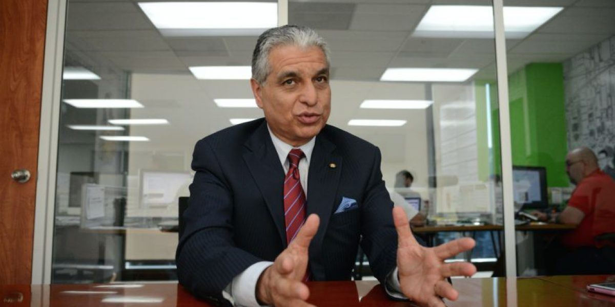 Entrevista con Carlos Contreras, presidente de la junta directiva del IGSS, marzo 2016