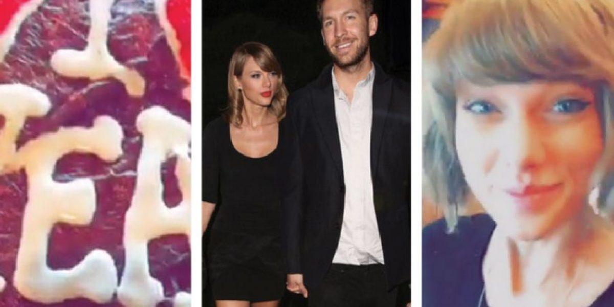 El dulce regalo de Calvin Harris a Taylor Swift para su primer aniversario