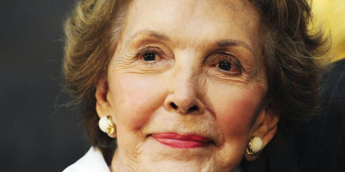 Fallece Nancy Reagan, esposa de expresidente Ronald Reagan