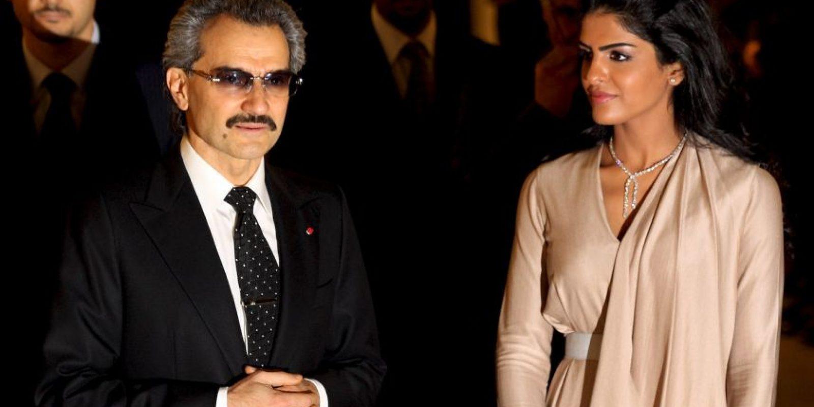 Príncipe Alwaleed Bin Talal Alsaud, de Arabia Saudita, tiene una fortuna valuada en $17.3 mil millones de dólares. Foto:Getty Images