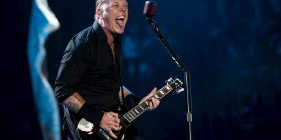 5. James Hetfield Foto:Getty Images