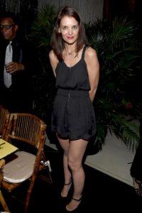 """El primer rumor surgió en San Valentín, cuando la revista """"OK Magazine"""" dio a conocer que Katie Holmes tenía tres meses de embarazo. Foto:Getty Images"""