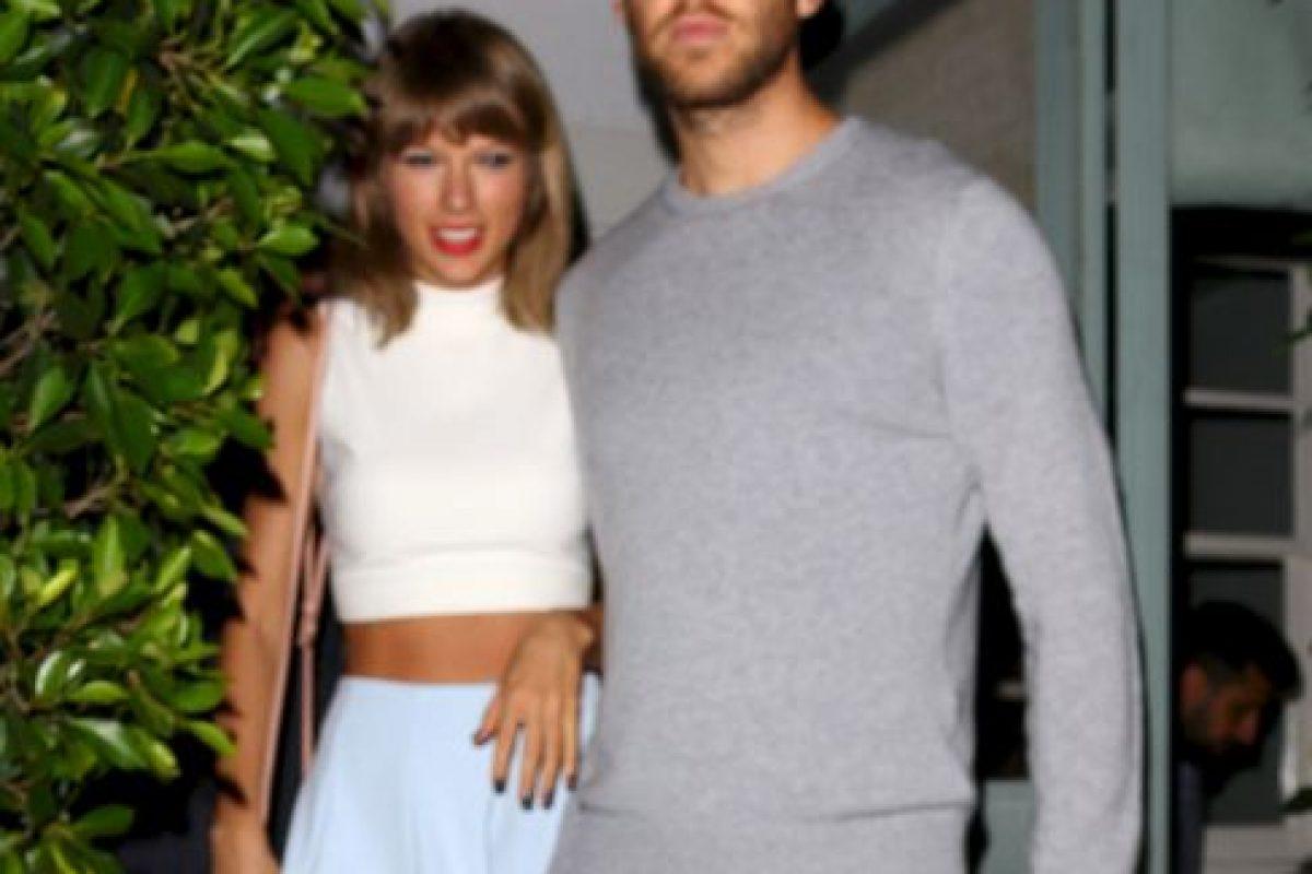 Harris estaba ansioso por conocer a Taylor y fue la también cantante Ellie Goulding quien los presentó. Foto:Grosby Group