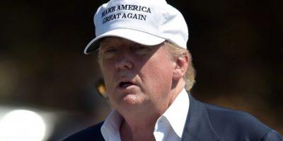 El candidato republicano, Donald Trump, durante un evento. Foto:AFP