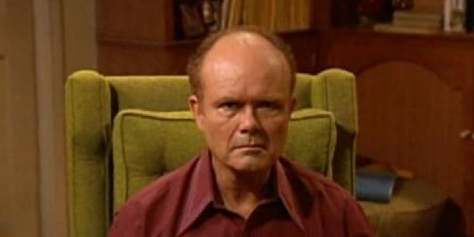 "Kurtwood Smith era ""Red Forman"". Foto: vía FOX"