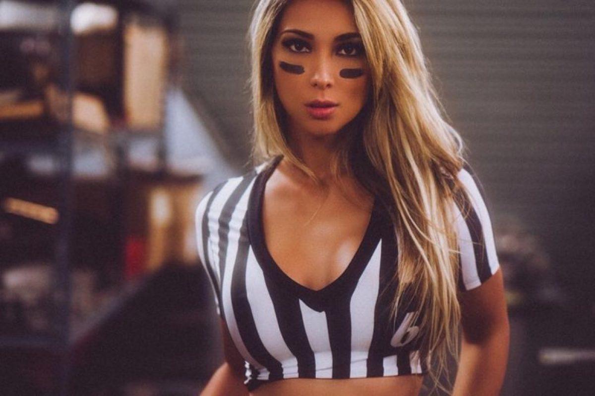 """Es modelo y ganadora del certamen """"Miss Brasil USA"""". Foto:Vía instagram.com/liviagullo"""