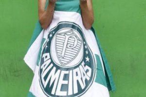 """La consideran la """"musa"""" del Palmeiras Foto:Vía instagram.com/civallentimfc"""