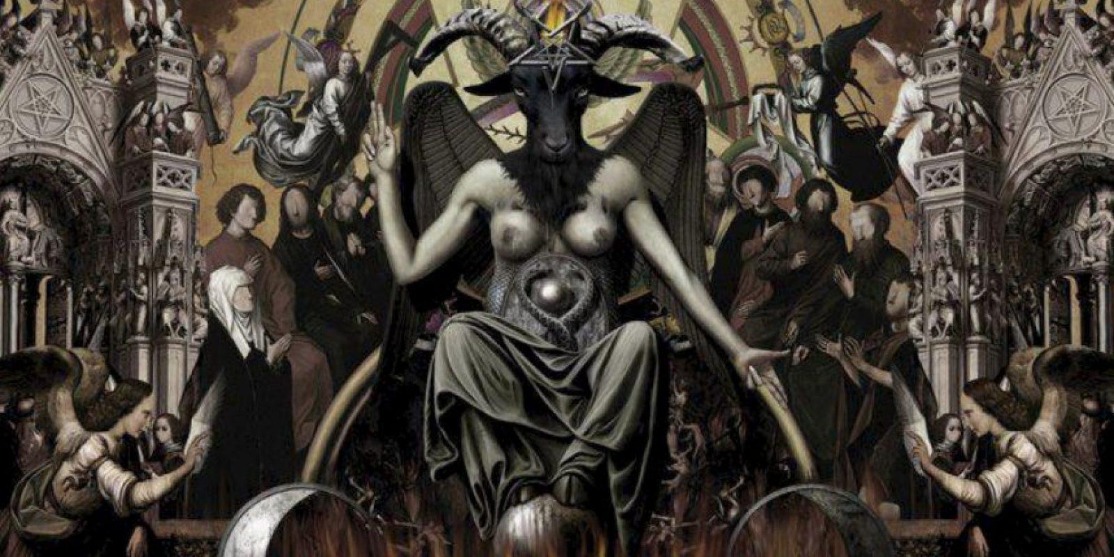 """El Satanista ateísta es su propio """"Dios"""". De aquí viene la corriente fundada por Anton LaVey. Foto:vía Tumblr"""
