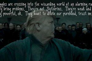 Lo comparan con Voldemort. Foto:vía Twitter