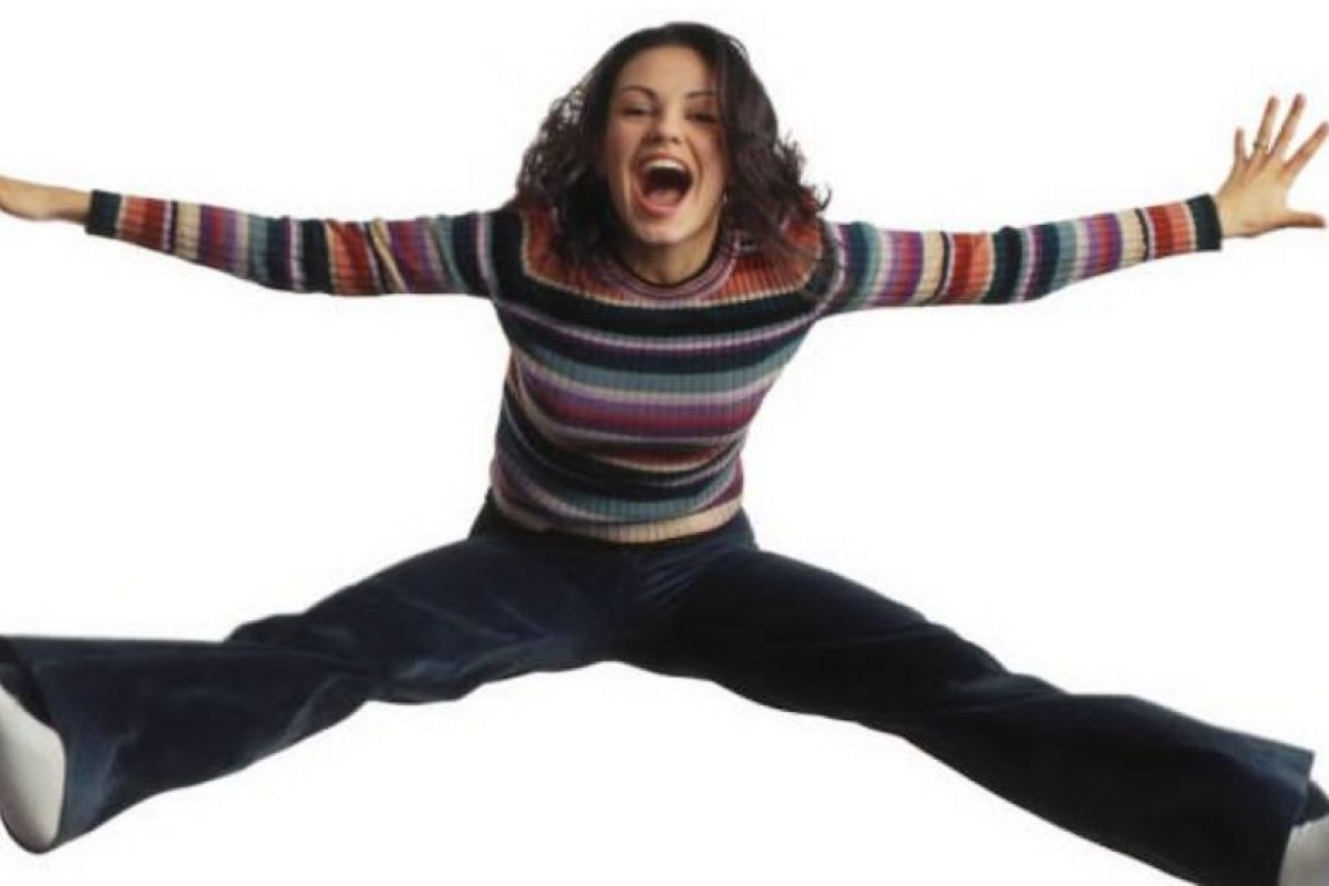 """Mila Kunis era """"Jackie Burckhart"""", narcisista novia de """"Kelso"""", rica y superficial. Foto:vía FOX"""