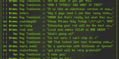 Hizo la prueba con un e-mail cuyo contenido no era más que la primera fila de letras del teclado (QWERTYUIOP) y se lo envió a otro ordenador. Foto:Twitter