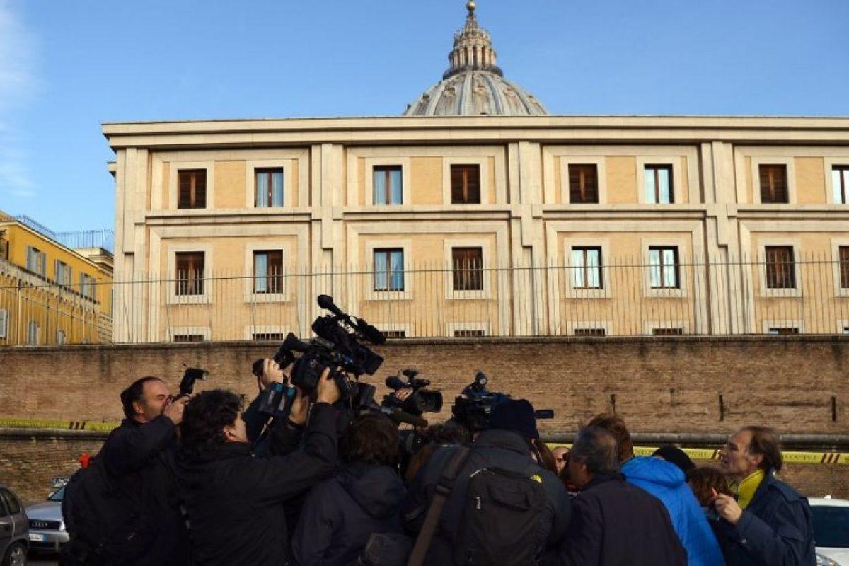 """El Vaticano reanuda el próximo lunes el controvertido caso denominado """"Vatileaks"""". Foto:AFP"""
