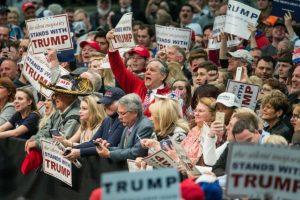 Y el favorito Donald Trump Foto:AFP