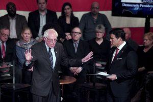 Y Bernie Sanders. Foto:AFP