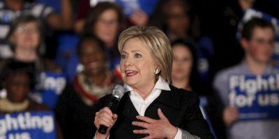 Del lado demócrata se disputan la nominación Hillary Clinton Foto:AFP