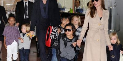 Nuevamente, la hija de Brad y Angelina es captada con un look muy varonil