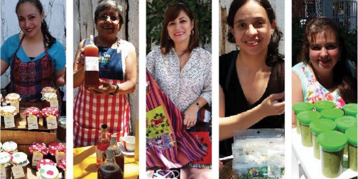 5 guatemaltecas emprendedoras que trabajan de manera artesanal