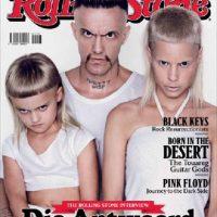 Su hija con Ninja, su compañero de banda, ya tiene siete años. Ella ya adoptó a otro niño. Foto:vía Rolling Stone
