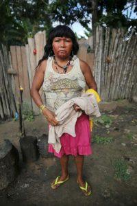 Y de las comunidad indígena Ka'apor Foto:Getty Images