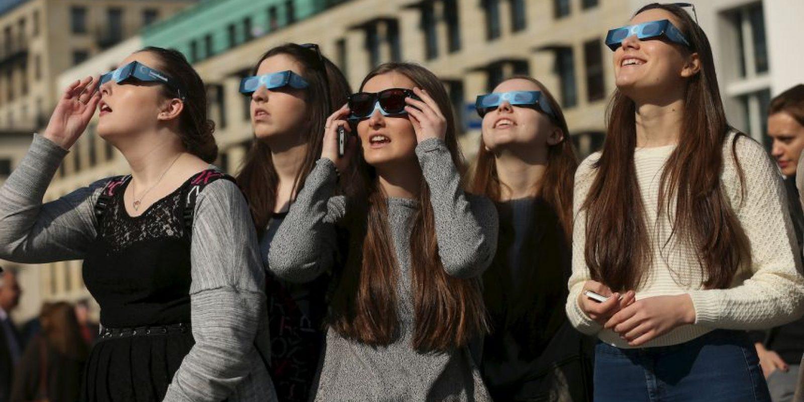 Puede provocar quemaduras en la retina Foto:Getty Images