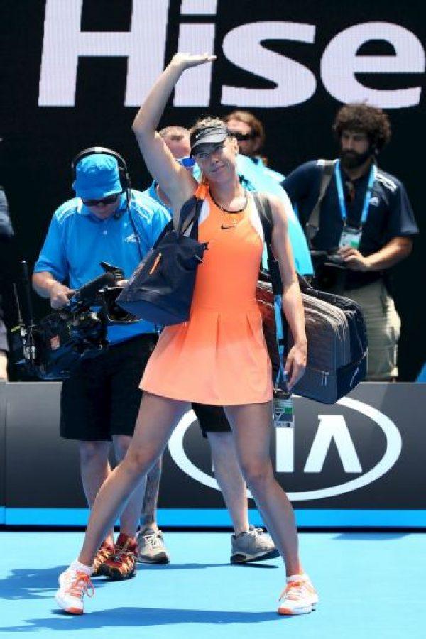 """""""No sabía que la sustancia estaba prohibida. Pido disculpas"""", dijo la tenista rusa Foto:Getty Images"""