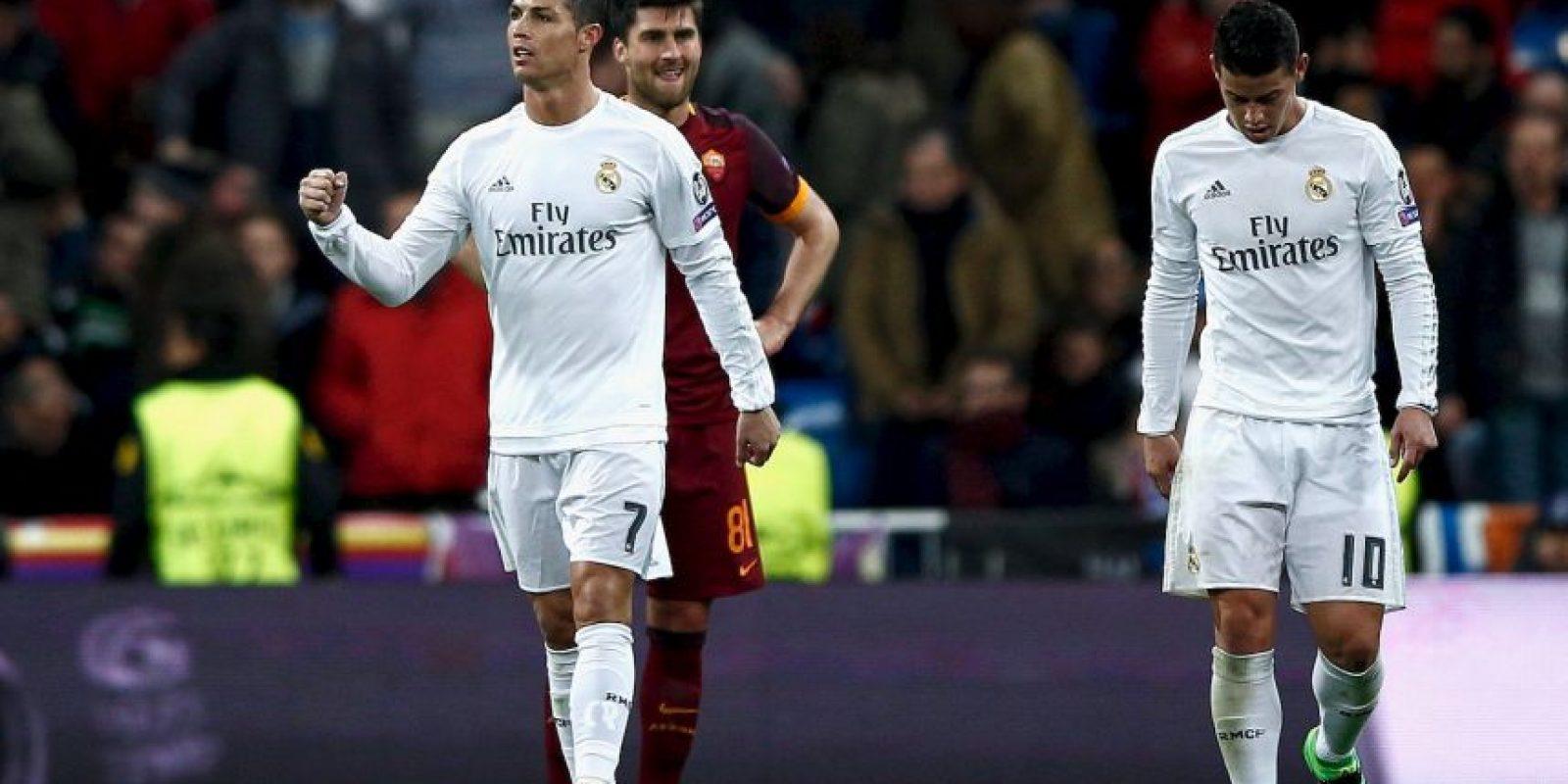 """""""CR7"""" marcó el primer gol del partido Foto:Getty Images"""