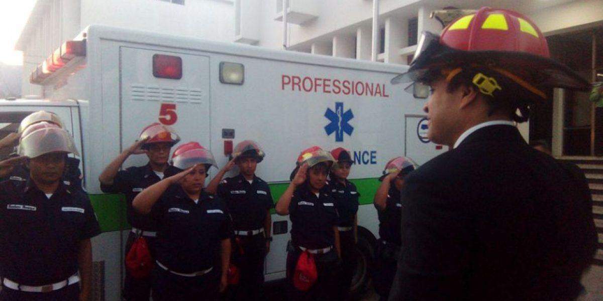 Alcalde Neto Bran gestiona compra de una ambulancia para estación de El Milagro