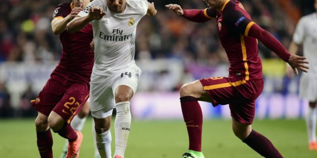 Resultado del partido Real Madrid vs AS Roma, vuelta de octavos de final de la Champions League 2015-2016