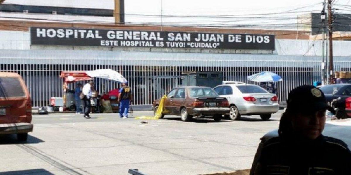 Reo se fuga del Hospital General, van tres casos de ese tipo en el año