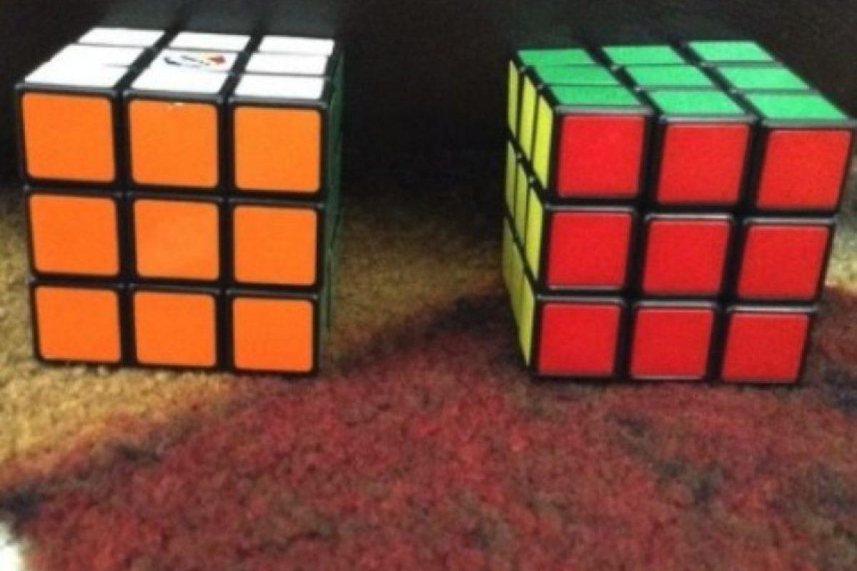 Un cubo rubik Foto:Instagram