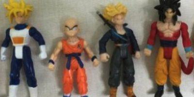 """Las figuras de acción de """"Dragon Ball"""" Foto:Amazon.com"""