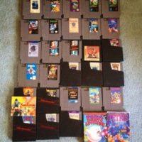 Una colección así o más grande de videojuegos Foto:Mercadolibre