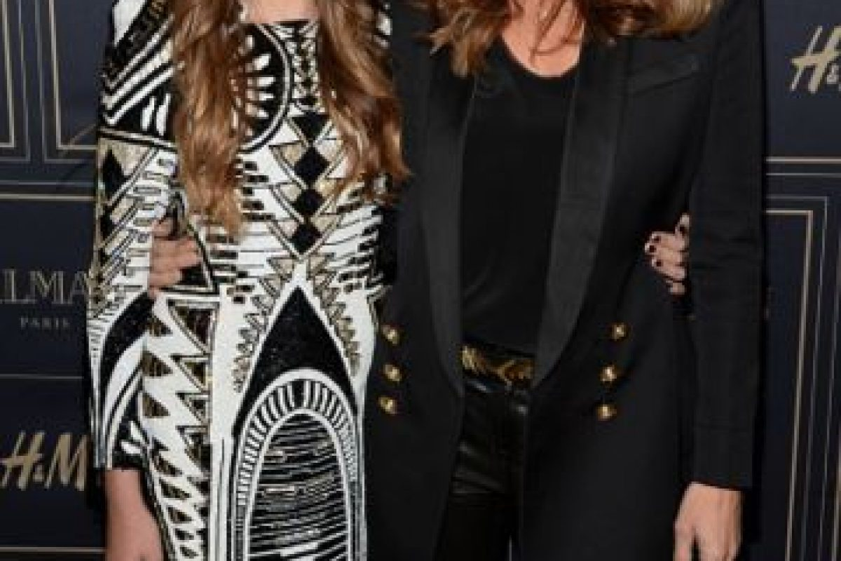 Kaia Jordan Gerber y Cindy Crawford Foto:Getty Images