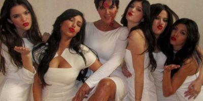 Kris y el clan Kardashian- Jenner Foto:Tumbrl