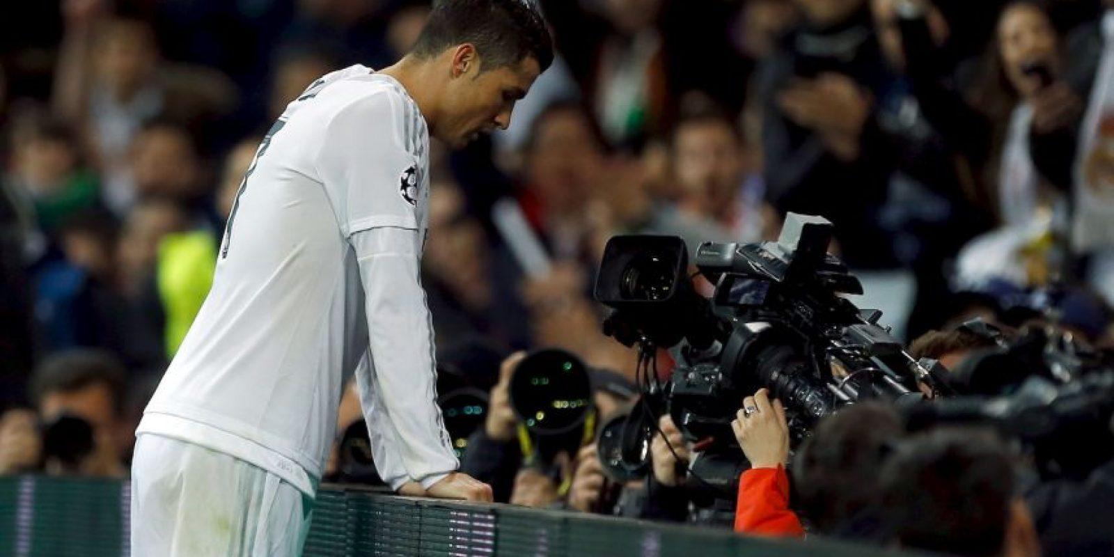 Pero en los primeros 45 minutos no tuvo suerte Foto:Getty Images
