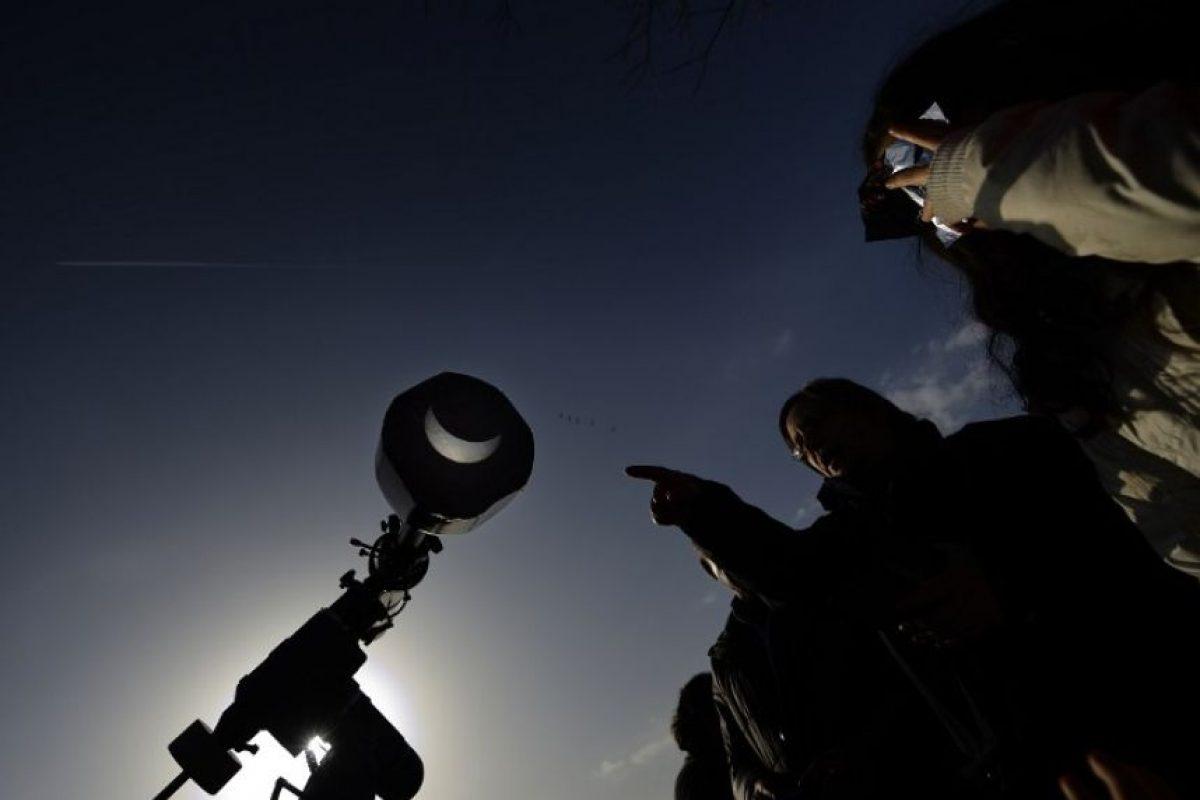 Este 8 de marzo ocurrirá un eclipse solar total. Foto:AFP