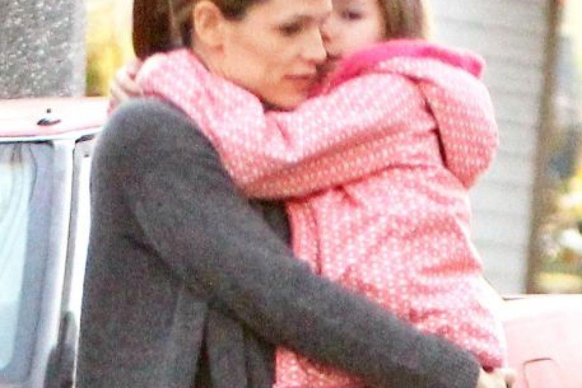 Jennifer Garner y Violet Affleck Foto:Grosby Group