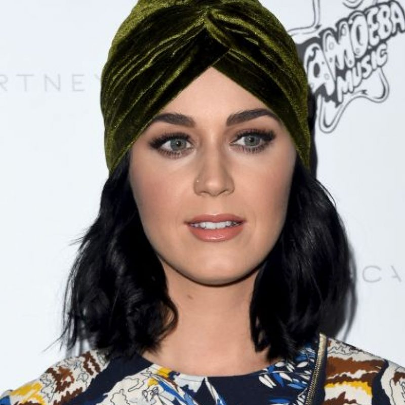 """""""Si trabajo tan duro como los hombres puedo llegar igual de lejos"""" Katy Perry Foto:Getty Images"""