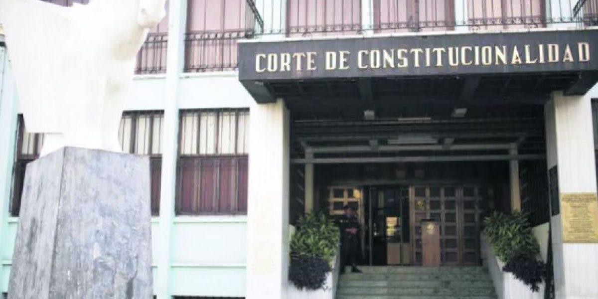 Listado de magistrados a Corte de Constitucionalidad