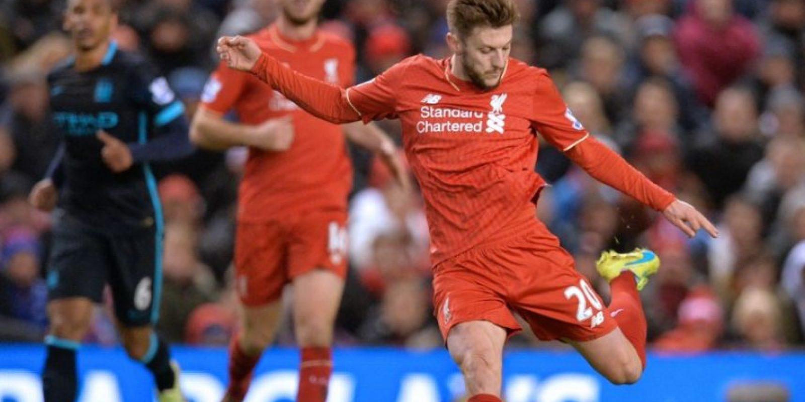 Postal de un partido Liverpool vs Manchester City, en Inglaterra. Foto:AFP