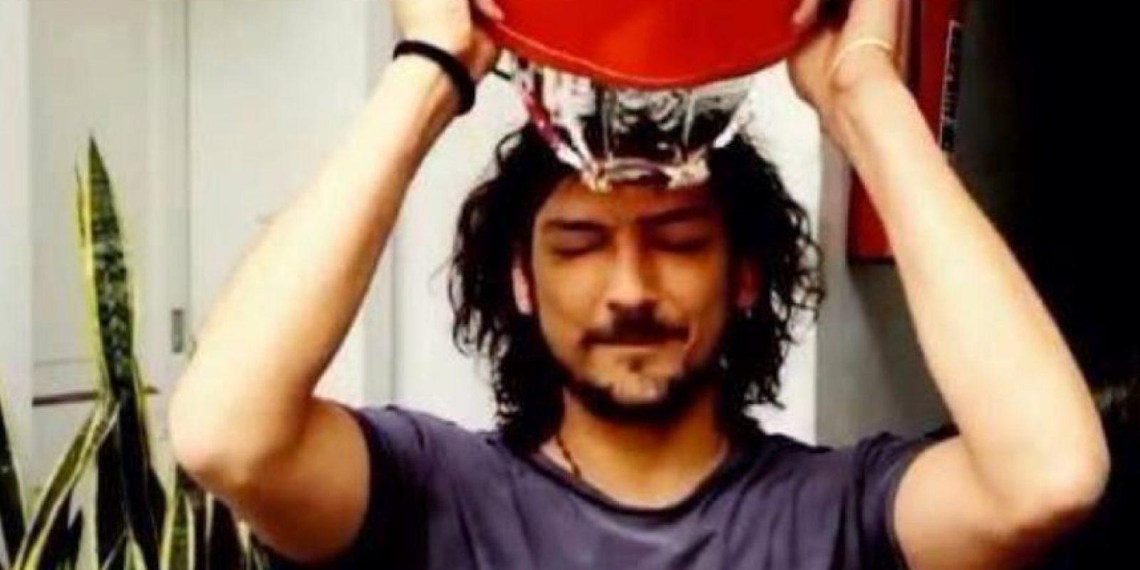 """En 2014 hizo el """"Ice Bucket Challenge"""". Foto:vía Twitter"""