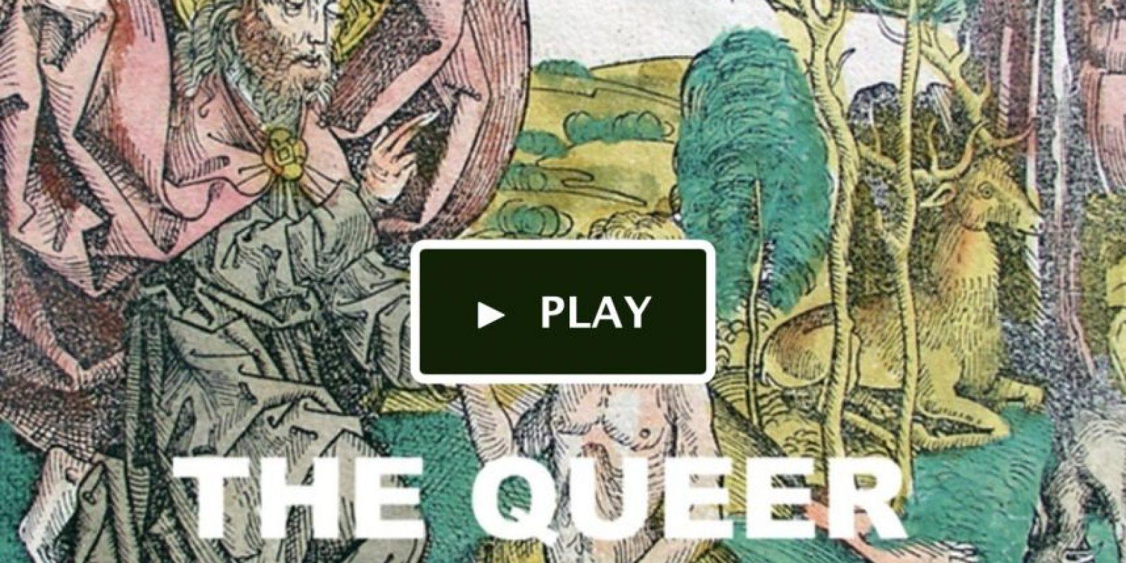 """La idea de """"La Biblia Queer"""" nació cuando, tras ser criado en una familia católica y descubrir su homosexualidad, se preguntó cómo podría alguien como él sentirse incluido en una sociedad donde se le condena por su orientación sexual. Foto:Vía kickstarter"""