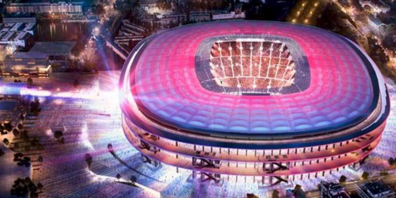 Así lucirá el nuevo estadio del Barelona Foto:Barcelona