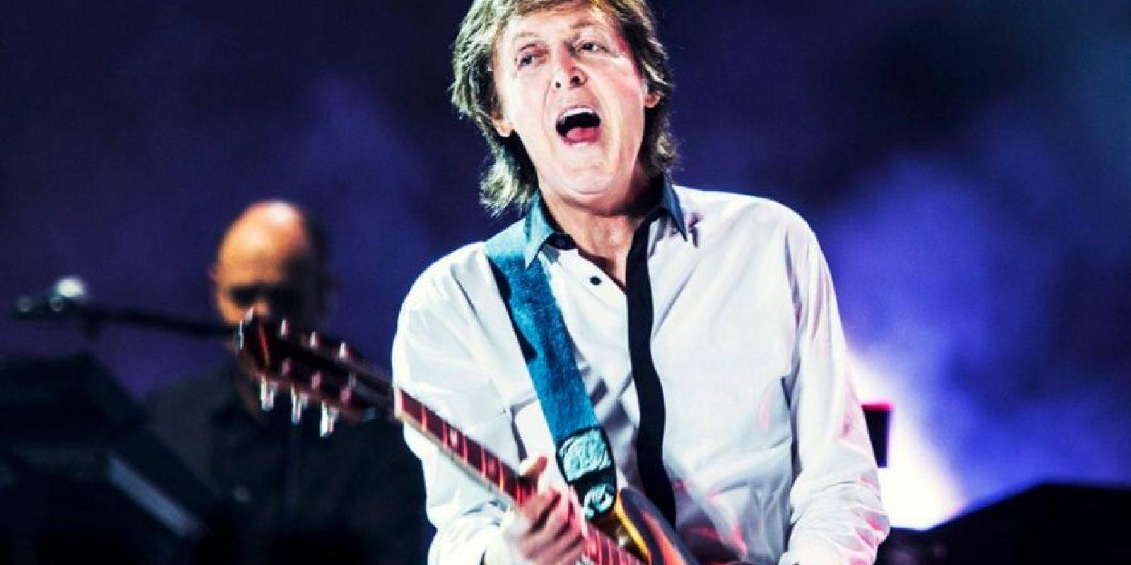 El legendario exBeatle Paul McCartney le dio un conmovedor adiós. Foto:Vía twitter.com/paulmccartney