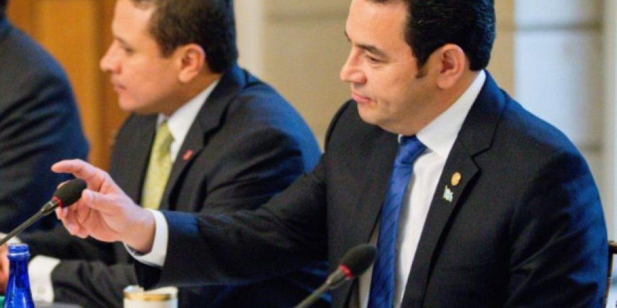 Jimmy Morales veta decreto que obliga a funcionarios a rendir cuentas al Congreso