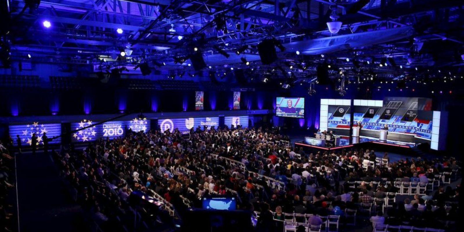 Los precandidatos del Partido Demócrata Foto:AFP