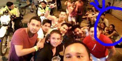 El selfie donde supuestamente aparecen las jóvenes argentinas Foto:Instagram.com – Archivo