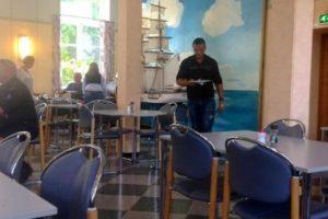 Y su comedor no parece de terror. Foto:Pinterest
