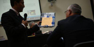 """""""Eco"""" es interrogado por abogados defensores en Caso La Línea"""