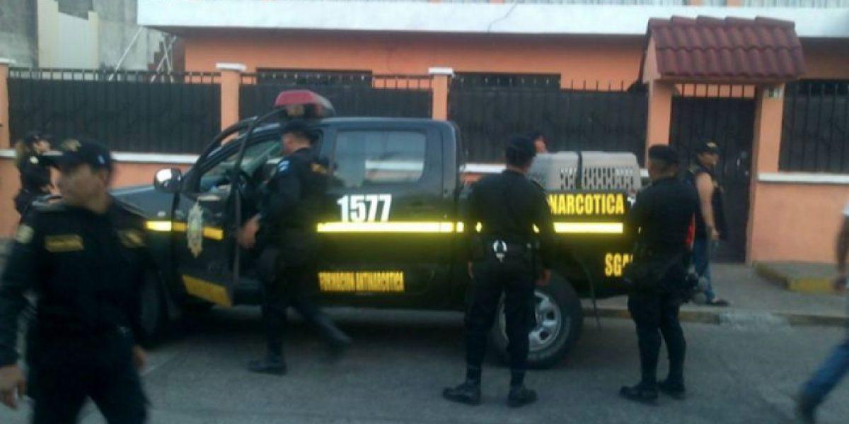 Realizan operativo en Retalhuleu contra ventas de droga